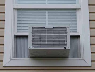 نصب کولر گازی پنجره ای