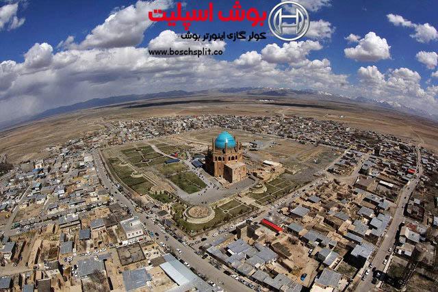 نمایندگی کولر گازی بوش در زنجان